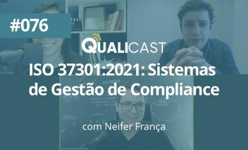 ISO 37301:2021: Sistemas de gestão de compliance